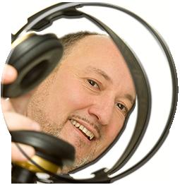 Kopfhörer rund