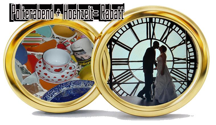 Polterabend Hochzeit Rabatt